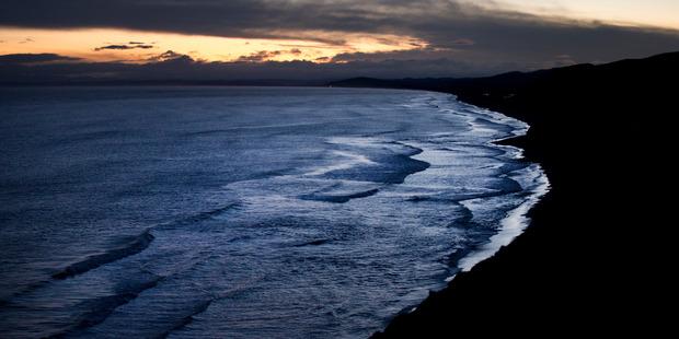 General view looking down the coastline on Mahia Peninsula. Photo / Alan Gibson