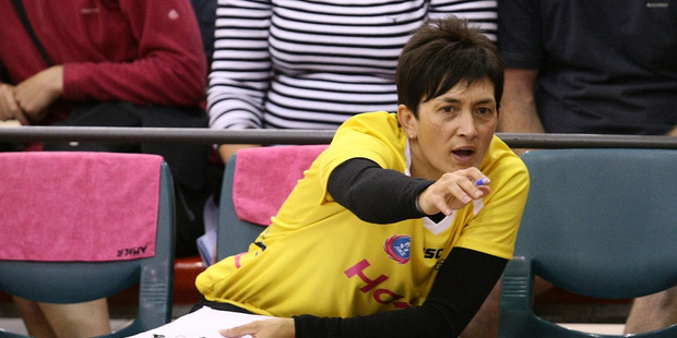 Coach Yvette McCausland-Durie of Central Pulse. Photo / Getty Images.