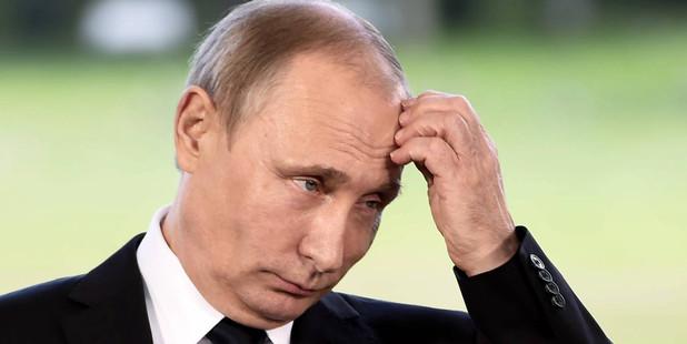 Russia's President Vladimir Putin sacked 50 navy staff from the Baltic fleet. Photo / AP