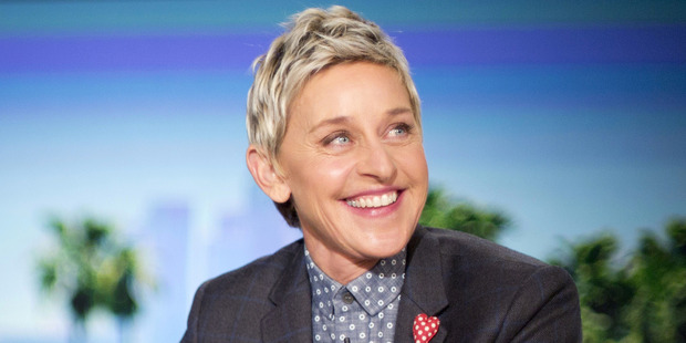 Ellen DeGeneres joked that she started eating fish again in retaliation for no sequel Finding Nemo sequal. Photo / AP