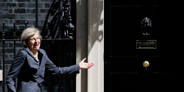 Loading Theresa May is only the second female prime minister in Britain's history.