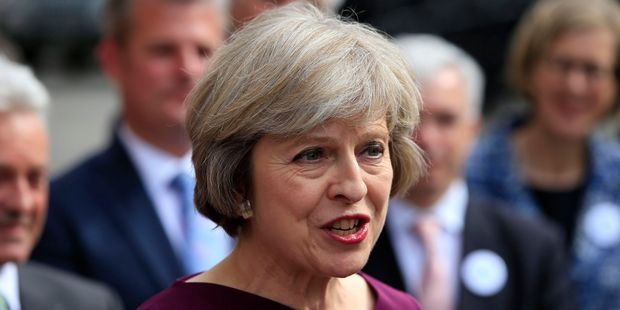 Loading Theresa May is set to replace David Cameron as Britain's Prime Minister. Photo / AP