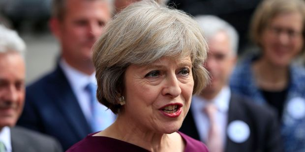 Britain's Home Secretary Theresa May will take over Britain's presidency from David Cameron due to the Brexit vote. Photo / AP