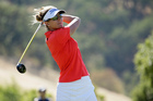 American Brittany Lang won her first career major at the US Women's Open at CordeValle yesterday. Photo / AP