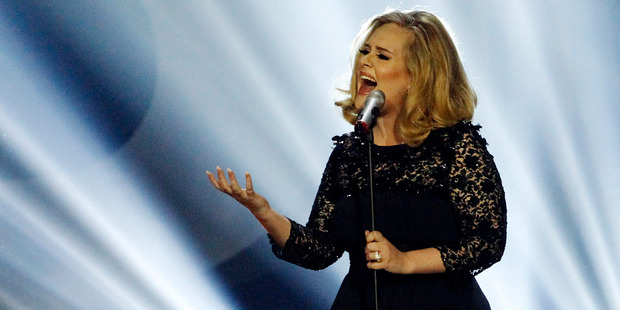 Adele's usually praised for being down-to-earth, but she's not above a diva-ish demand. Photo / AP