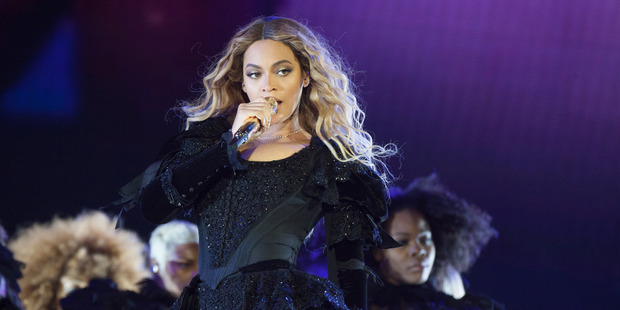 Beyonce performs during her Formation World Tour. Photo / AP