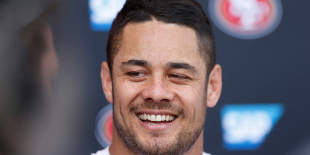 Jarryd Hayne. Photo / Getty Images.