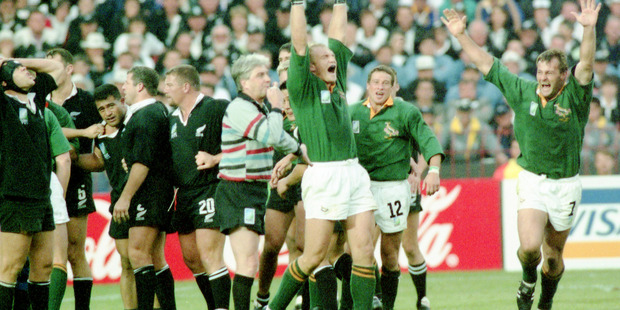 The 1995 World Cup final: the one that got away. Photo / AP