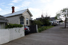 The street where Luke Tipene was stabbed in the neck with a broken bottle.  Photo / Doug Sherring