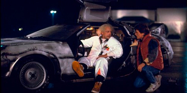 """Back To The Future is one of the few films that got some things right about the """"future"""". Photo / Supplied"""