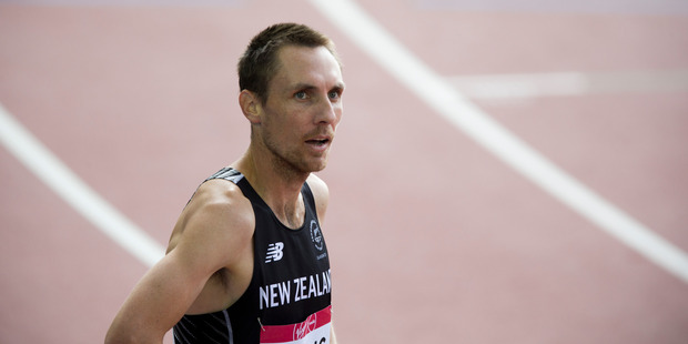 New Zealand's Nick Willis. Photo / Greg Bowker