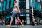Australia and New Zealand Banking Group gains 3.3 per cent to $24.78.Photo / Steven McNicholl