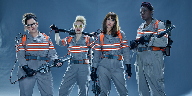 This week finally brings the chance to see what all the new Ghostbusters fuss is about.