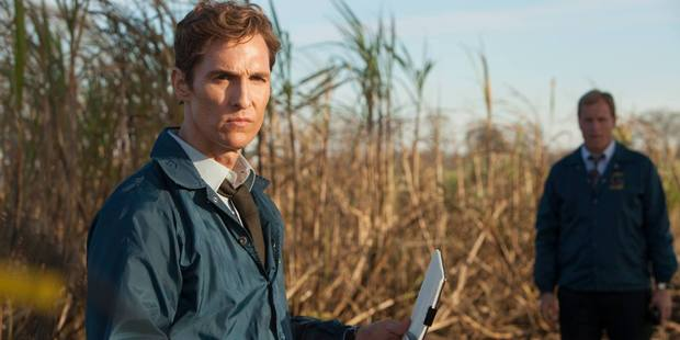 True Detective starring Woody Harrelson and Mathew McConaughey. Photo / Supplied