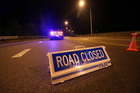 Dunedin police say a southbound lane on the southern motorway will be closed until later tonight. Photo / File