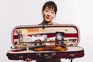 Violinist Suyeon Kang.