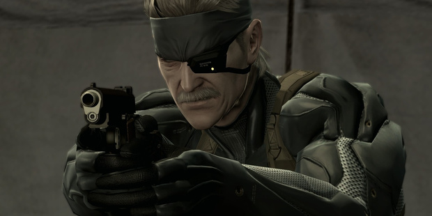 A scene from Metal Gear Solid 4, before they botched the fifth one. Photo / Supplied