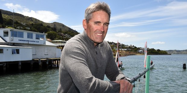 After winning gold in Los Angeles, Sir Russell Coutts went on to compile a remarkable record on the world match racing circuit. Photo / Otago Daily Times
