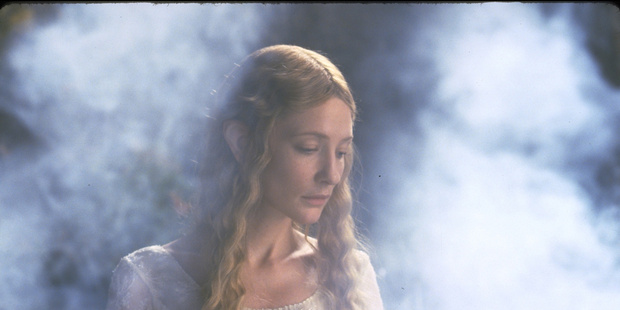Cate Blancett as Lady Galadriel in the Lord of the Rings, who is one of the central characters of Tolkein's poem. Photo / File