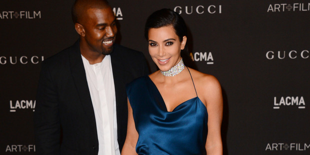 Kim Kardashian has opened up about her fears for her children growing up black. Photo / AP