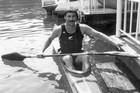 New Zealand Olympian Alan Thompson won Gold in Kayaking, K-1 1000m, Los Angeles, 1984. Photo / Paul Estcourt