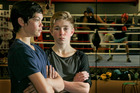 CHB Boxing Club pair Tyler Kopua, 15, and Callum Shanks, 14, are excited about  Rotorua. Photo / Warren Buckland