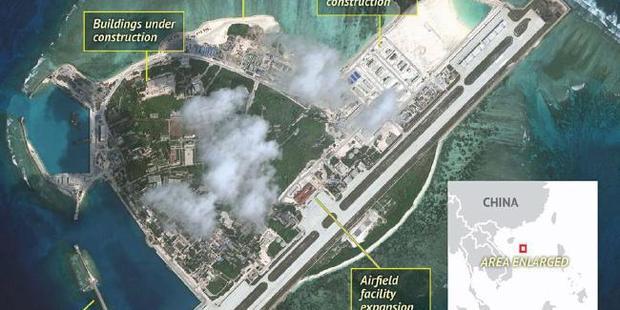 China's military base on Woody Island. Photo / Stratfor