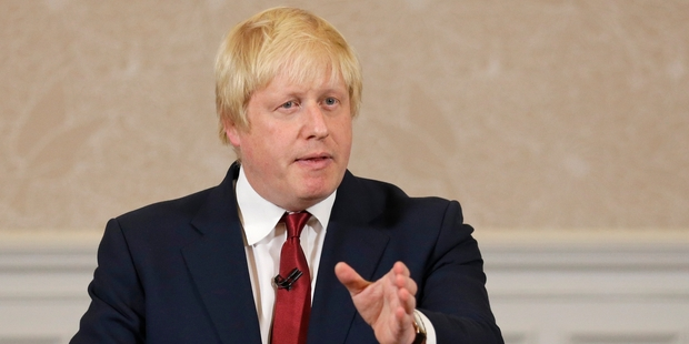 """Boris Johnson's appointment as Foreign Secretary has been described as a piece of """"British humour"""". Photo / AP"""