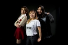 New Zealand K-Pop finalists (L-R) Lindsay Chen age 17, Michelle Chua age 20 and Vivian XU age 19. Photo / Dean Purcell