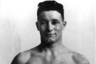 Ted Morgan received a gold medal in welterweight boxing at the Amsterdam Olympics, 1928. Photo / New Zealand Herald