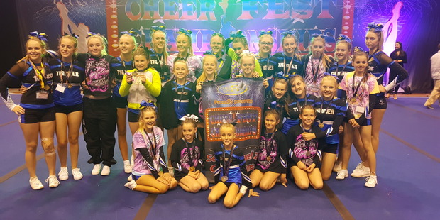 Bay Twisters at the Cheerfest Championships' in Auckland. Photo/supplied