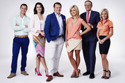 The current Breakfast team on TV One. Hosts Nadine Chalmers-Ross and Rawdon Christie are set to be replaced by Jack Tame and Hilary Barry for a new-look show in 2017.