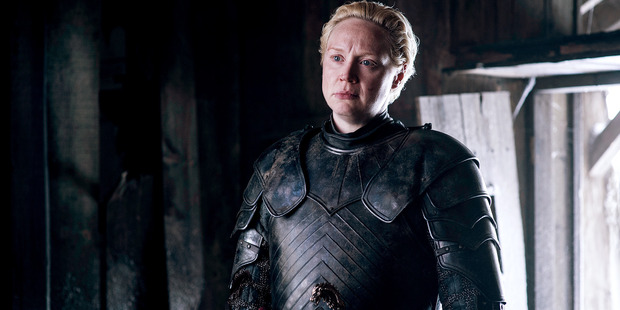 Keep an eye out, Thrones fans, Brienne of Tarth could be wandering around Queenstown. Photo / HBO