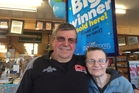 Bill and Brenda Rogers' Oparau Roadhouse store sold one of the $13.3 million winning Lotto tickets. Photo / Belinda Feek