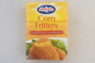 Birds Eye Corn Fritters. $8.84 for 500g. Photo / Supplied
