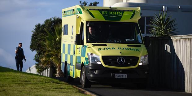 Emergency services are at the scene where a man has been hit by a car at Mount Maunganui. Photo/George Novak