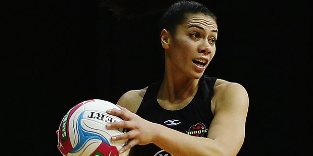Midcourter Grace Rasmussen made her long-awaited 100th ANZ Championship appearance. Photo / Getty
