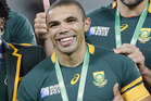 South Africa's Bryan Habana missed out of the rugby sevens squad for the Olympics. Photo / AP