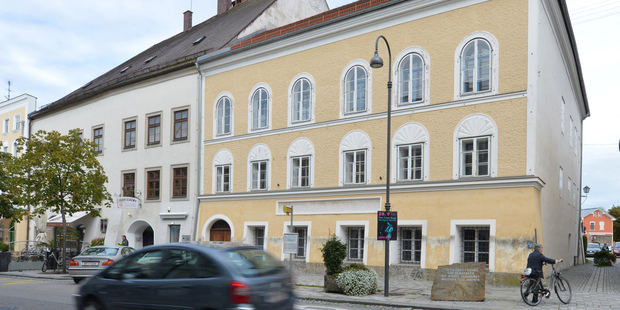 Adolf Hitler's birth house. The government has sought ownership so it can take measures to lessen its attraction as a shrine for the Nazi dictator's admirers. Photo / AP