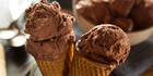 Chocolate ice cream contains enough energy to heat a home. Photo / iStock