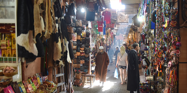 The shopping in Marrakech was 'pretty average' according to Peter Williams. Photo / iStock