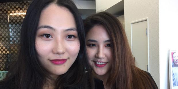 Loading Jenna Wu (left) and Janice Shin (right). Photo / Supplied