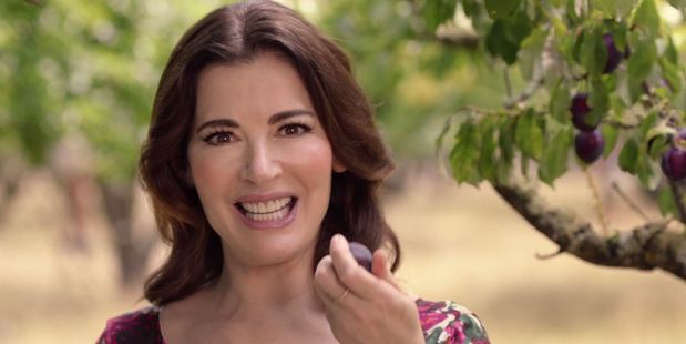 Nigella Lawson has been spruiking Whittaker's Black Doris Plum and Roasted Almond chocolate, which is currently in short supply.