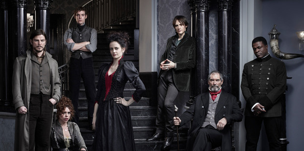 The cast of Penny Dreadful.