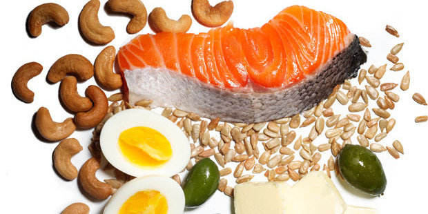 Nuts, eggs and salmon are all great foods to help with healing and recovery. Photo / Getty