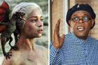 Samuel L Jackson's not having any of this dragon nonsense on Game of Thrones. Photos / supplied, Splash News