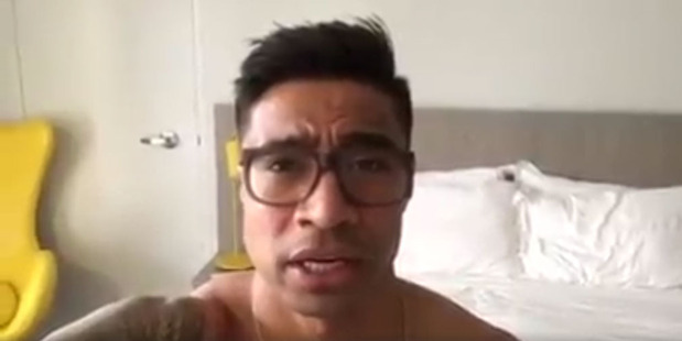 Loading Pua Magasiva says his motorbike has been stolen - and he wants it back. Photo/Facebook