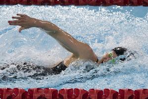 Kiwi swimmer Lauren Boyle.