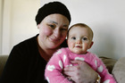 Carterton mother Brooke Malyon and her miracle baby daughter Charlie, 7 months. Photo / Emily Norman