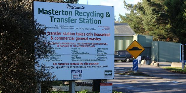 An employee, aged in his 50s, was taken to Wairarapa Hospital after suffering a serious injury at Masterton's Transfer Station and Recycling Depot.